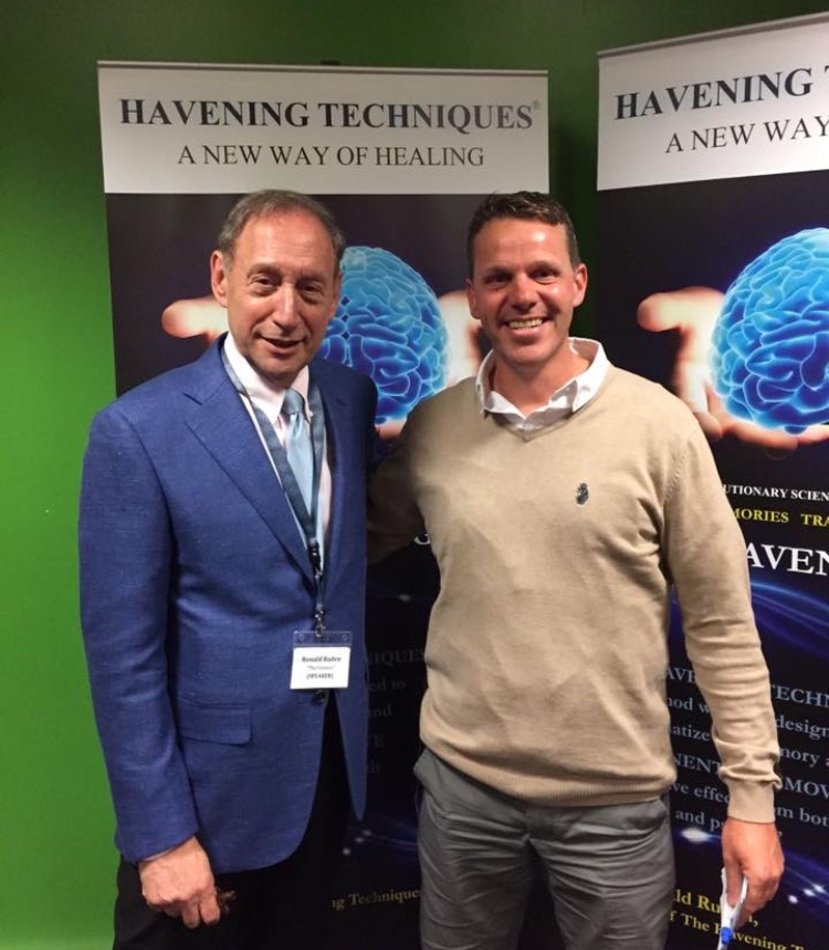 Havening Techniques ® creator  Dr Ronald Ruden  and James Hymers